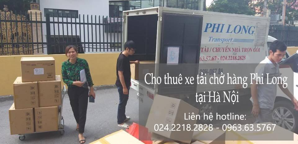 Dịch vụ cho thuê xe tải giá rẻ tại phố Nguyễn Khoái