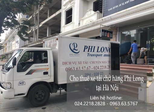 Dịch vụ cho thuê xe tải giá rẻ tại phố Hồ Đắc Di