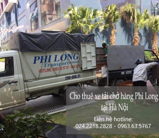 Dịch vụ cho thuê xe tải giá rẻ tại phố Đinh Công Tráng