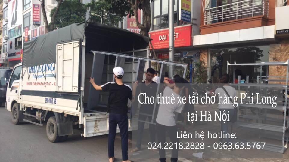 Dịch vụ cho thuê xe tải giá rẻ tại phố Cát Linh