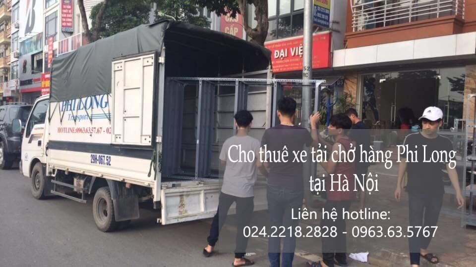 Dịch vụ cho thuê xe tải giá rẻ tại phố Lãng Yên