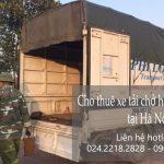 Cho thuê xe tải giá rẻ phố An Xá