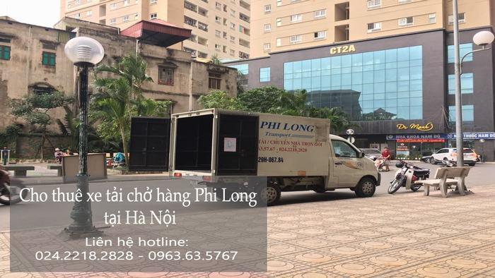 Cho thuê xe tải giá rẻ tại phố Đường Thành