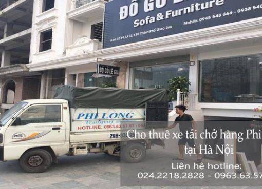 Cho thuê xe tải giá rẻ tại phố Đặng Tiến Công