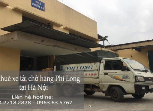 Dịch vụ cho thuê xe tải giá rẻ tại phố Hoàng Văn Thái