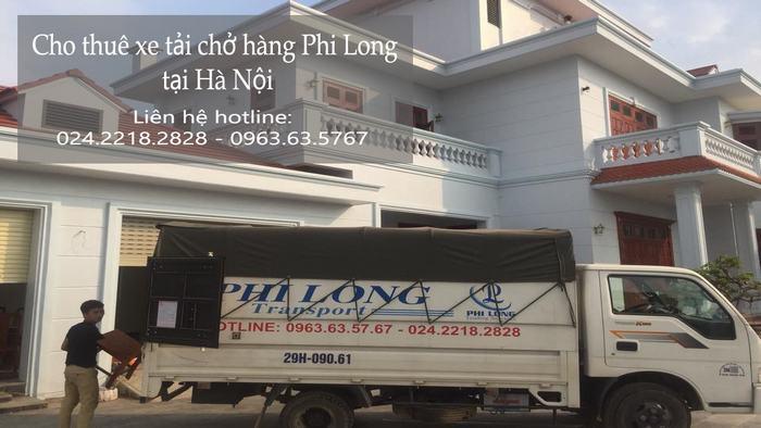 Dịch vụ cho thuê xe tải chuyển nhà tại phố Hoa Lâm