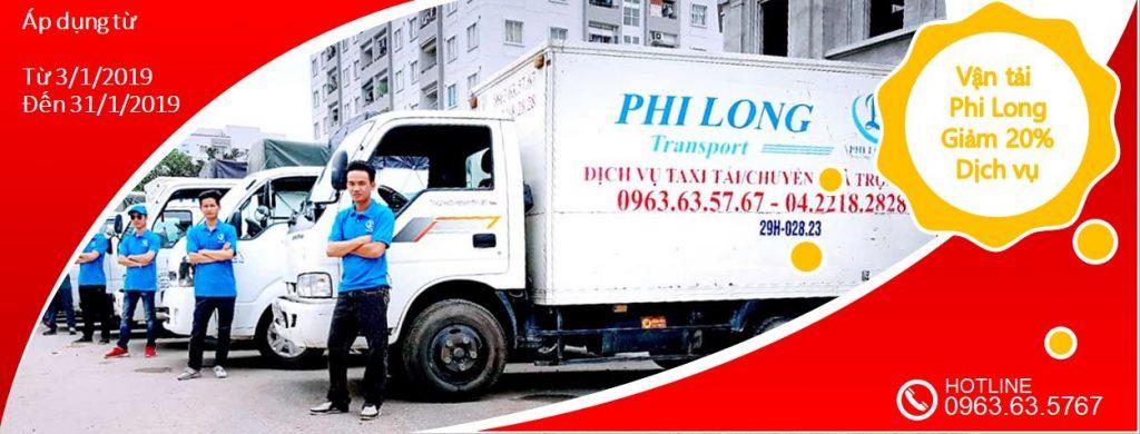 Cho thuê xe tải tại phố Nam Tràng