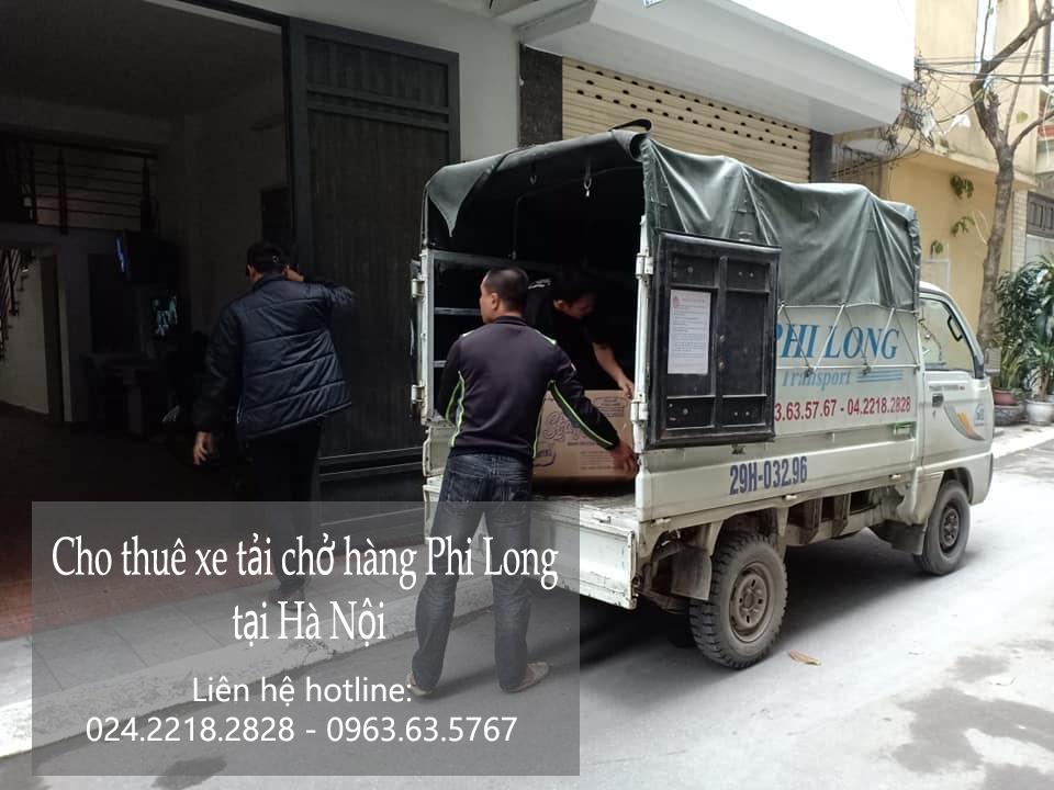 Cho thuê xe tải giá rẻ tại phố Ngô Tất Tố