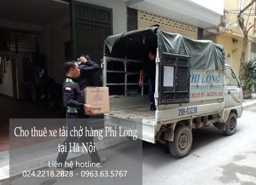 Dịch vụ cho thuê xe tải tại phố Vũ Tông Phan