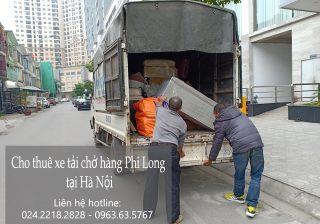 Cho thuê xe tải giá rẻ tại phố Hồng Hà
