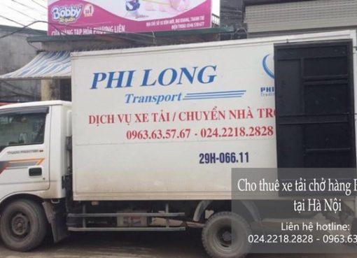 Cho thuê xe tải giá rẻ tại phố Đoàn Khuê