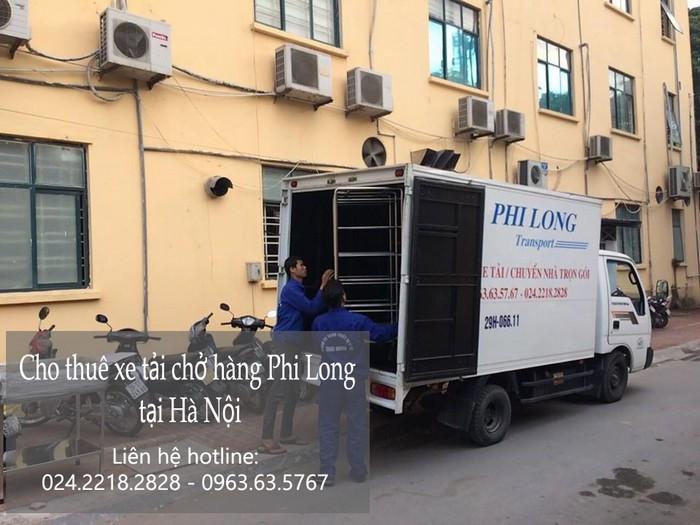 Dịch cho thuê xe tải giá rẻ tại phố Quỳnh Mai
