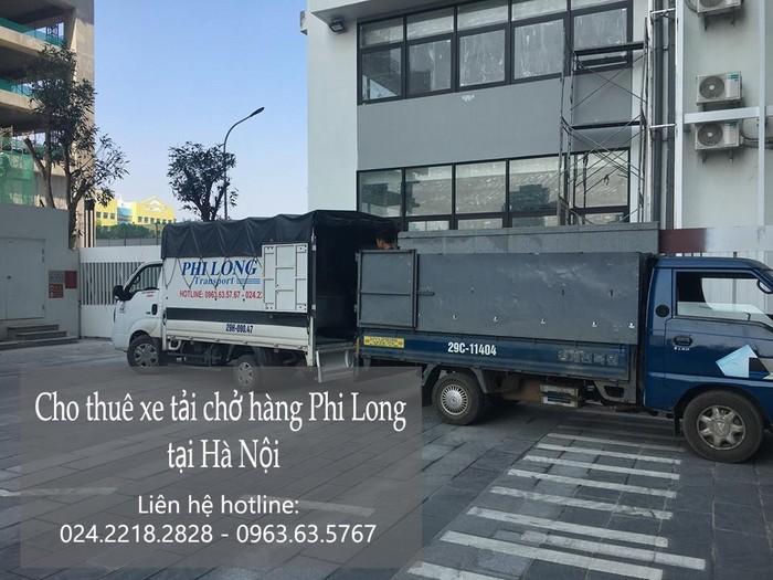 Dịch vụ cho thuê xe tải giá rẻ tại phố Nguyễn Cao