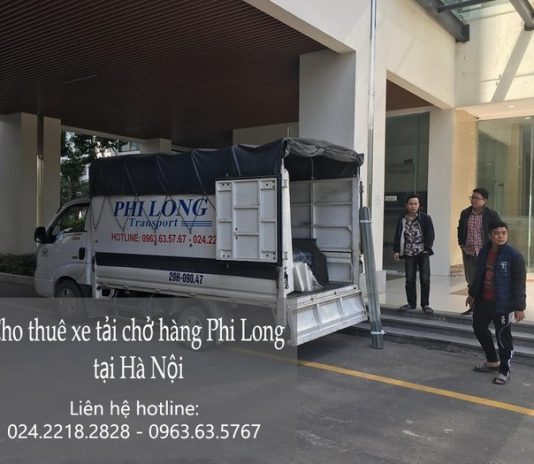 Dịch vụ cho thuê xe tải giá rẻ tại phố Minh Khai