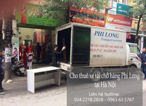 Dịch vụ cho thuê xe tải giá rẻ tại đường Nguyễn Phong Sắc