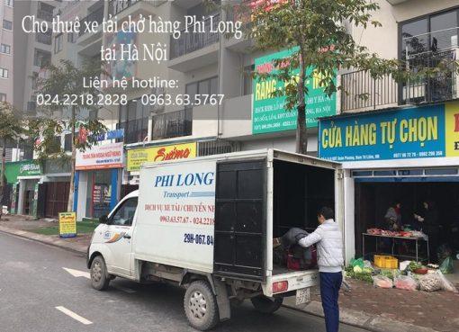 Cho thuê xe tải giá rẻ tại phố Dương Hà