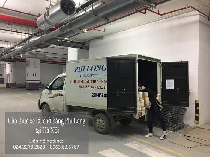 Cho thuê xe tải giá rẻ tại phố Phúc Xá
