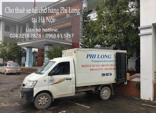 Dịch vụ cho thuê xe tải giá rẻ tại đường Hà Huy Tập