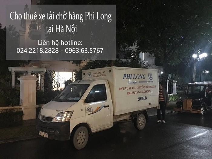 Dịch vụ cho thuê xe tải giá rẻ tại phố Kim Hoa 2019