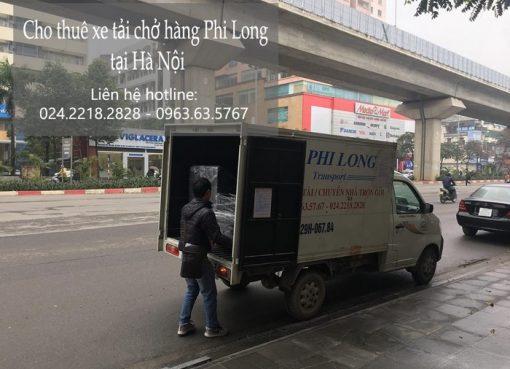 Dịch vụ cho thuê xe tải giá rẻ tại phố Hoàng Thế Thiện