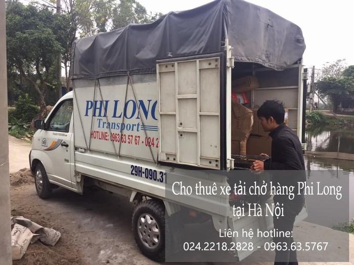 Dịch vụ cho thuê xe tải tại phố Nguyễn Thị Định