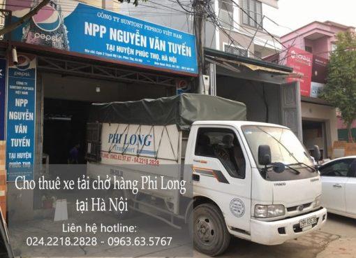 Cho thuê xe tải giá rẻ tại phố Ninh Hiệp