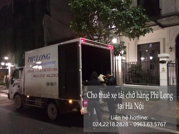 Cho thuê xe tải giá rẻ tại phố Hoàng Thế Thiện