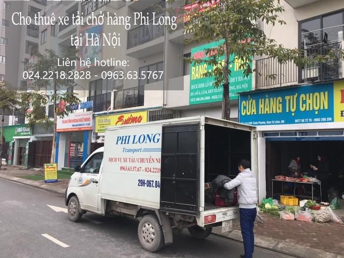 Cho thuê xe tải giá rẻ tại phố Kẻ Tạnh