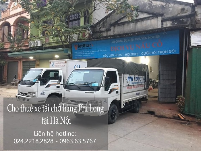 Dịch vụ cho thuê xe tải giá rẻ tại phố Nghĩa Tân