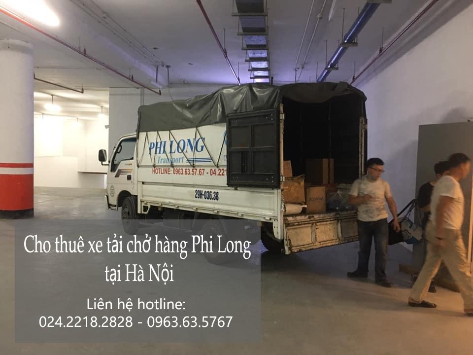 Dịch vụ cho thuê xe tải Phi Long tại phố Thành Công