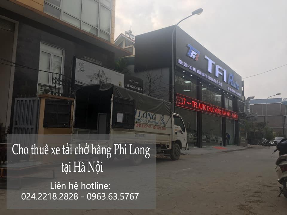 Cho thuê xe tải giá rẻ tại phố An Xá 2019