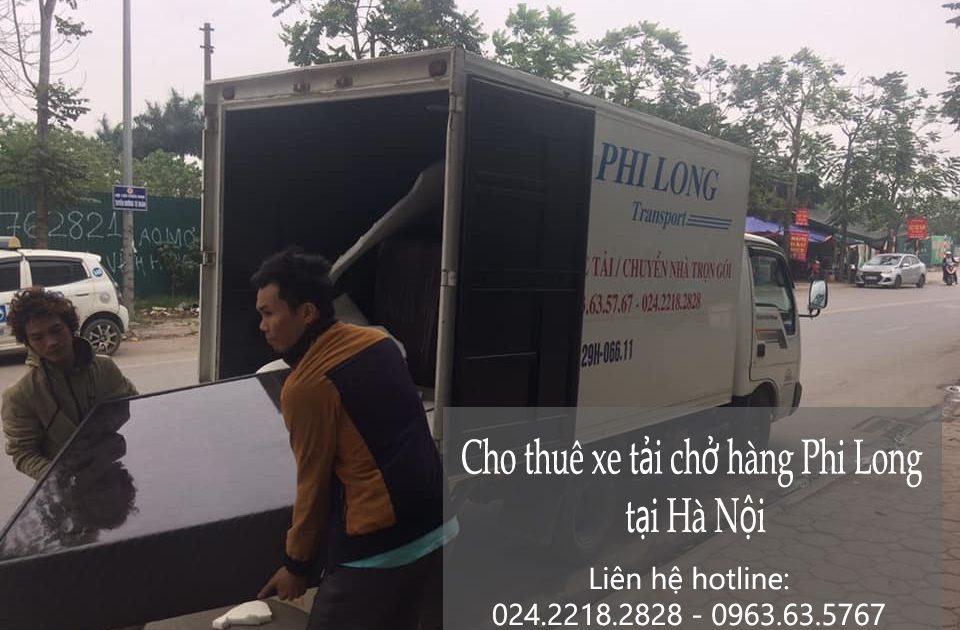 Cho thuê xe tải tại phố Quần Ngựa