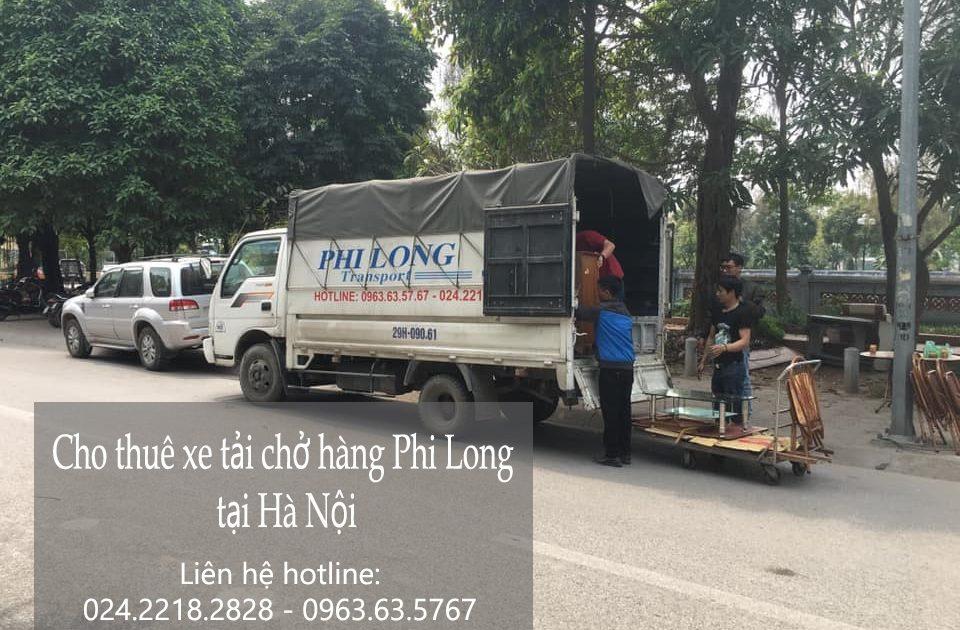 Dịch vụ cho thuê xe tải tại phố Tôn Thất Phiệt