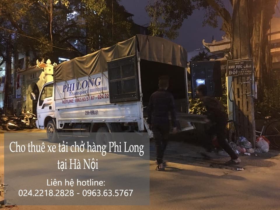 Dịch vụ cho thuê xe tải giá rẻ tại phố Hoài Thanh