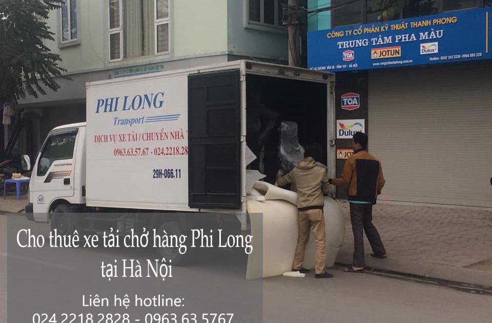 Dịch vụ cho thuê xe tải tại phố Thanh Bảo