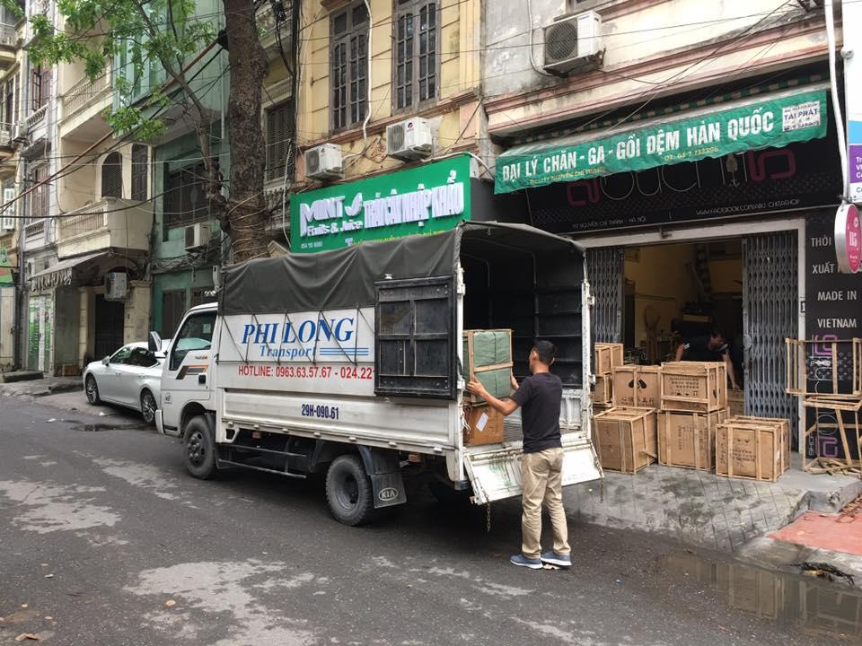 Dịch vụ cho thuê xe tải giá rẻ tại phố Mộ Lao