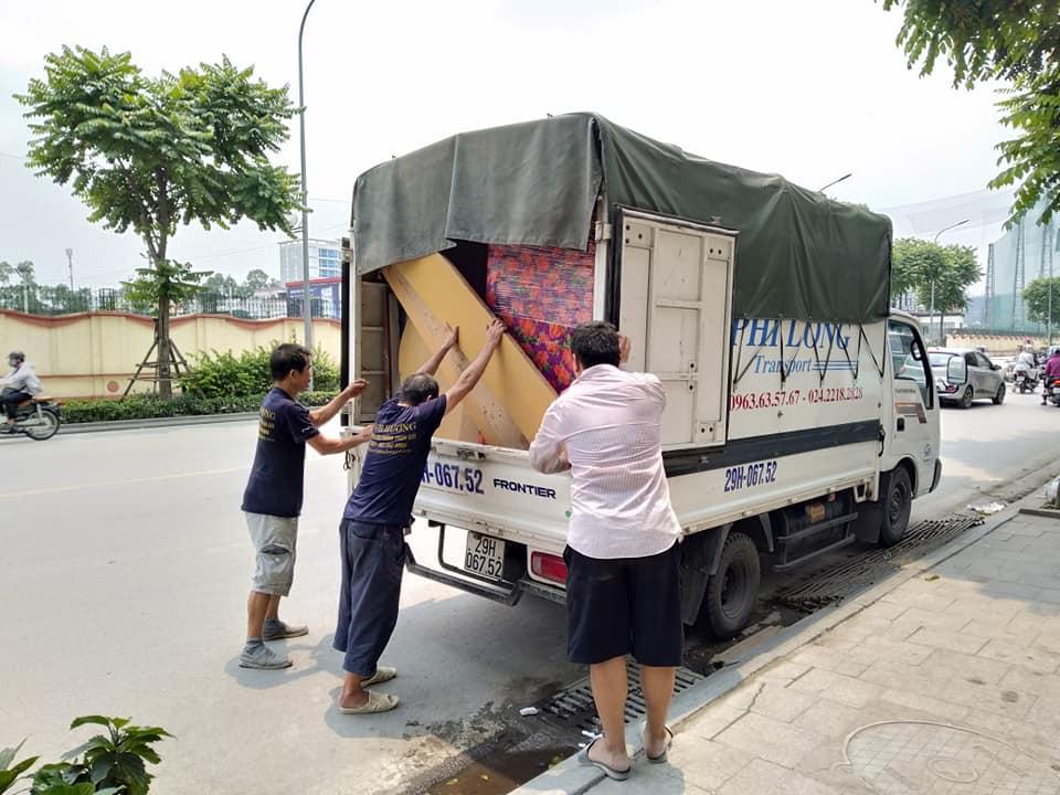 Dịch vụ cho thuê xe tải tại phố Vân Đồn