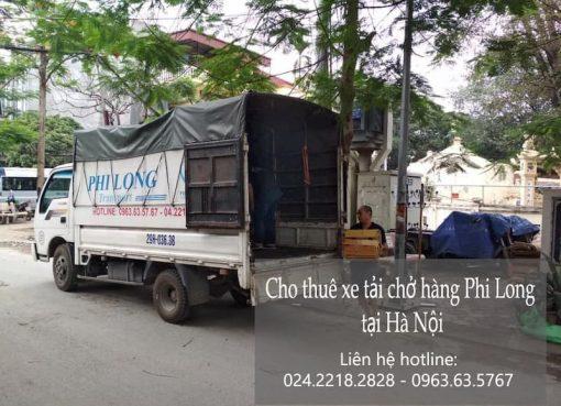 Dịch vụ cho thuê xe tải giá rẻ tại phố Tân Triều