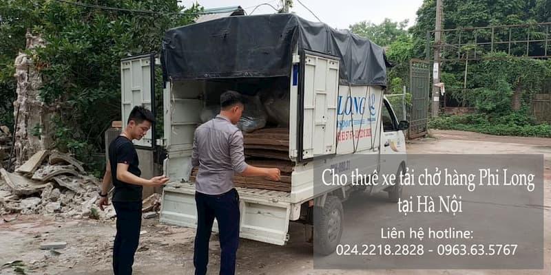 Dịch vụ cho thuê xe tải tại phố Trích Sài