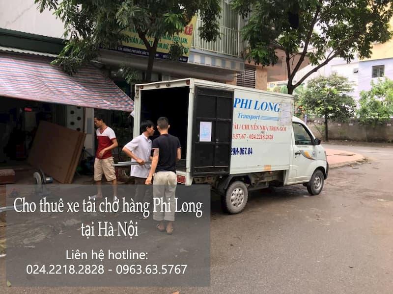 Dịch vụ cho thuê xe tải tại phố Tân Nhuệ