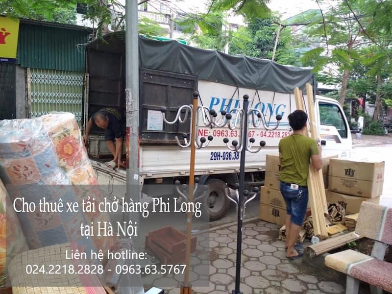 Dịch vụ cho thuê xe tải giá rẻ tại phố Yên Sở