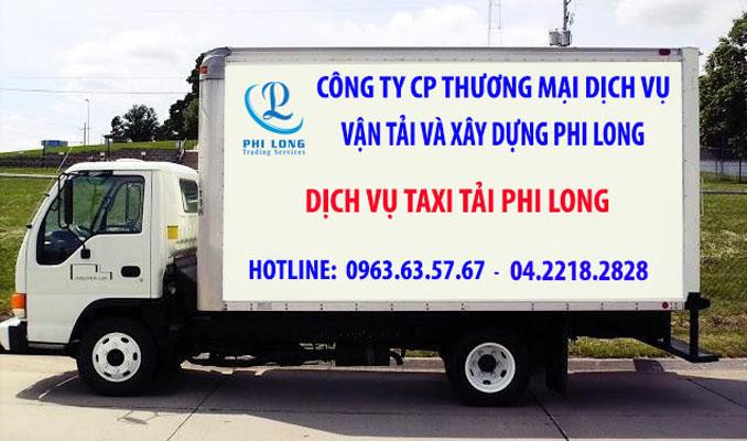 Cho thuê xe tải Phi Long tại phố Cổ Linh