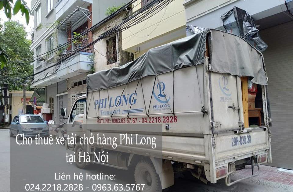 Dịch vụ cho thuê xe tải tại phố Thúy Lĩnh