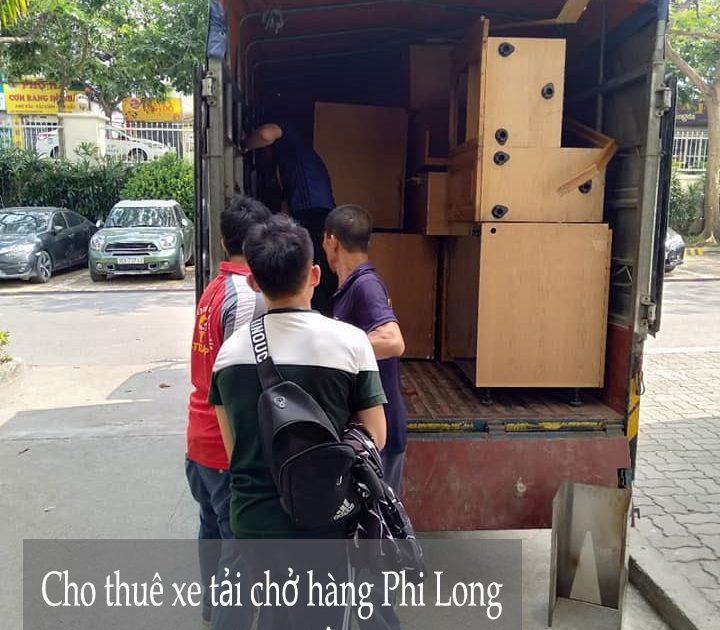 Dịch vụ cho thuê xe tải Phi Long tại phố Vĩnh Quỳnh