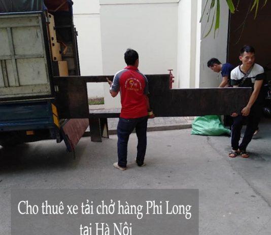 Dịch vụ cho thuê xe tải giá rẻ tại phố Phú Diễn 2019