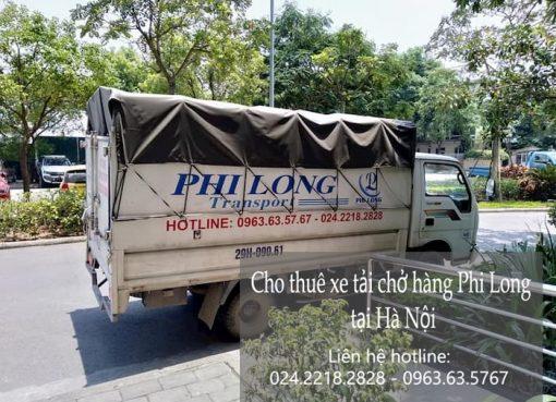Dịch vụ cho thuê xe tải tại phố Chính Kinh 2019