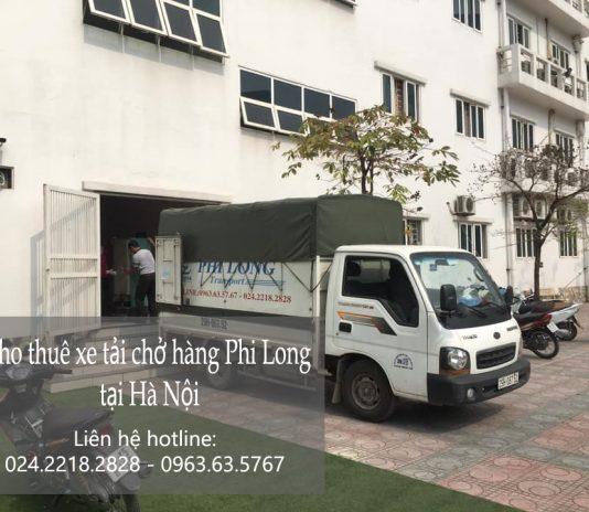 Dịch vụ cho thuê xe tải Phi Long tại phố Phan Bá Vành
