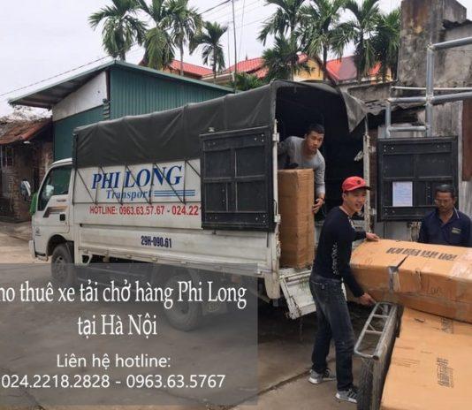 Cho thuê taxi tải Phi Long tại phố Hoa Lâm