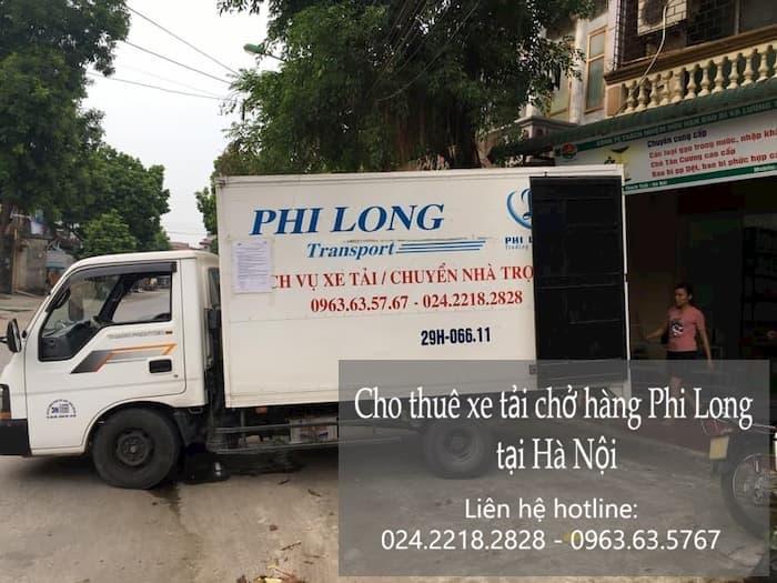 Dịch vụ cho thuê xe tải tại phố Đặng Xuân Bảng