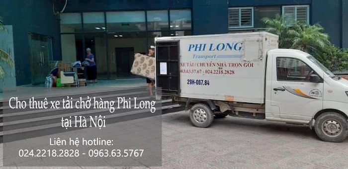 Dịch vụ cho thuê xe tải tại phố Tương Mai